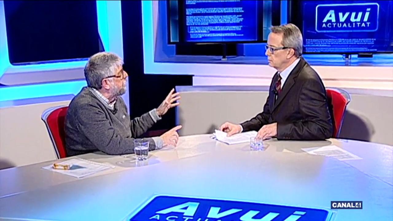 Entrevista a Agustí Jansà dins el programa 'Avui Actualitat' – Canal4 Televisió