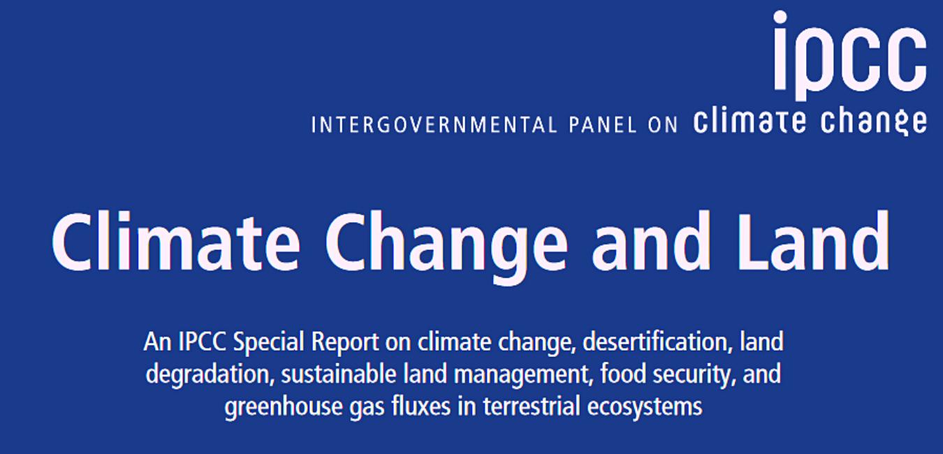 El LINCC UIB resalta la importancia del Informe Especial del IPCC sobre Cambio Climático y la tierra publicado recientemente