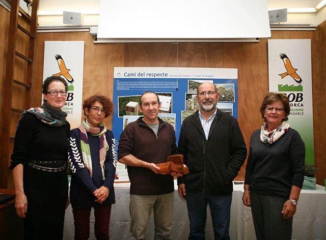 Article de premsa «Damià Gomis rep el premi Pere Prats del GOB» Es Diari Menorca