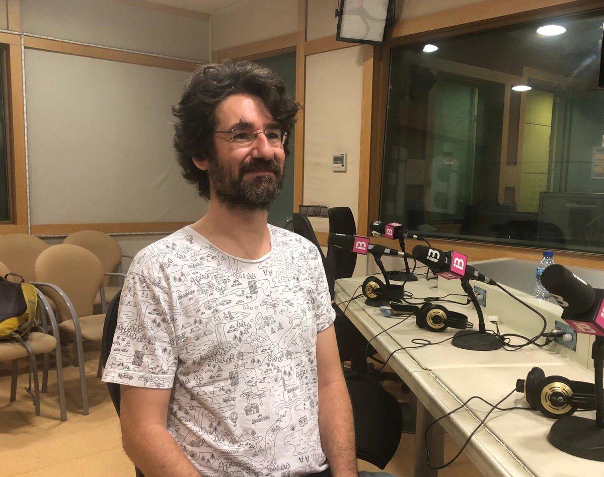 Pau de Vílchez, entrevistat al programa «Balears fa Ciència» d'IB3 Ràdio